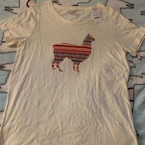 New women's Llama shirt